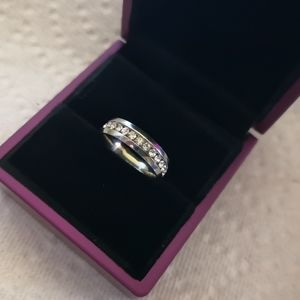 (NEW) 316L Stainless Steel Eternity Ring